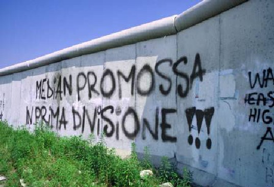 Graffito Celebrativo di Ignoti Supporters