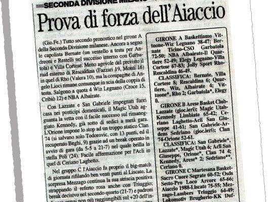 La Prealpina del 7/02/2005