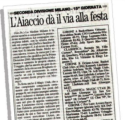 La Prealpina del 9/05/2005