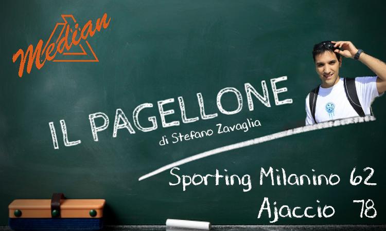 11/03/2019: Ass. Sporting Milanino – Ajaccio 62-78